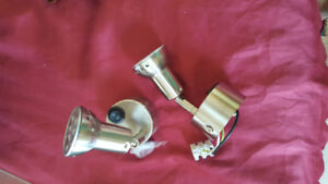 New Pair of Brass Bunk /Reading Lamp Boat/Marine LED Lamps