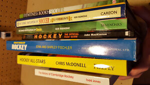 Hockey and Soccer Hardcover books