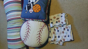 Boys double bedding & accessories