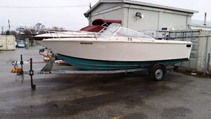 22ft searay fishing boat