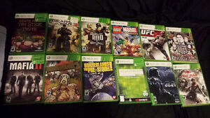 XBOX 360 GAMES and XBOX 360