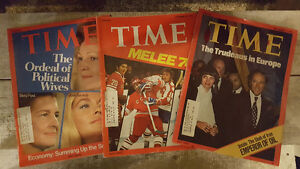 Vintage Time Magazines Canada