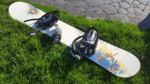 High scociety Scarlet Snowboard 156cm - with Salomon Bindings