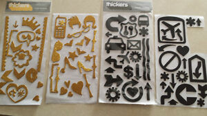 Thickers brand stickers