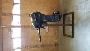 10 hp Johnson commercial outboard