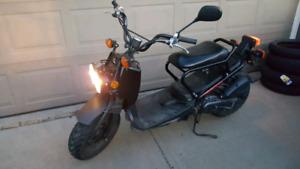 Honda ruckus, low mileage