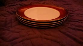 Denby Provence 4 Dinner Plates