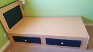 Twin bed bedroom set
