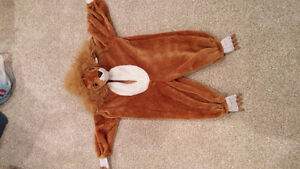 Lion Halloween costume - toddler small