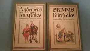 Grimms and andersens fairy tales