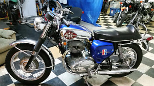 British motorcycles for trade