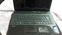 Sony Vaio Laptop with Windows 7, and Microsoft Office