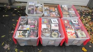 Lot of over 650 Various CD's