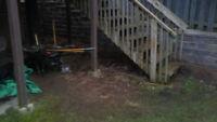 Interlock, Masonry retaining wall install/repair