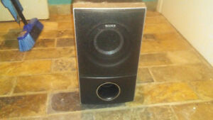 Sony SS-WS74 Subwoofer passive 1.5ohm for home theater system