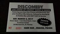 DisComedy - Live Stand Up Comeday Followed by Dance