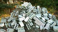 Free Cinder Blocks