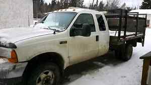 1999 Ford F-350 dually 7.3l diesel with hydrolic lift gate