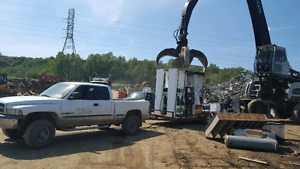 Free scrap metal and vehicle removal service