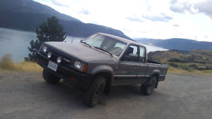 1990 mazda b2600i 4x4 1100 cash firm or trade