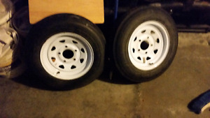 5.30x12inch. Trailer tires and rims