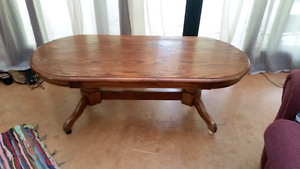 Solid Wood Coffee Table Wardell Ballina Area Preview
