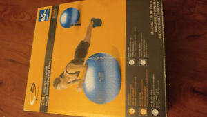 Fitness Ball and Pump 65cm