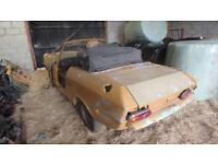 1969 bond equippe convertible 6 cylinder partially stripped barn find shrewsbury
