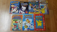 Various new & gently-used POKEMON books