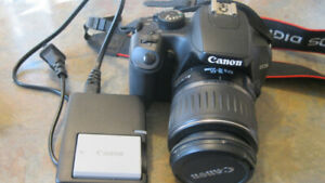 Canon EOS Rebel XS Digital Camera + 18-55mm IS Zoom Lens Kit