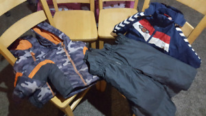 Boys sz 2 and 3 snow pants and jackets