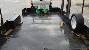 Trailer * 3 ramps and boat rack