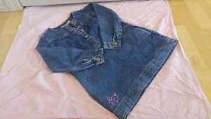 Jean dress for 4 years old
