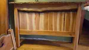 Queen Size Live Edge Cherry Bed Frame    London Ontario image 3