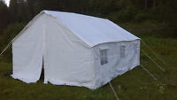 New Canvas Wall Tent - 13x16