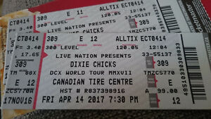 2 Dixie Chicks Tickets