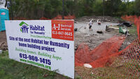 Construct a Home with Habitat for Humanity