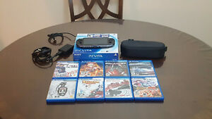 PS Vita + 8 Games + Official Sony Carry Case + 8gb Memory Card