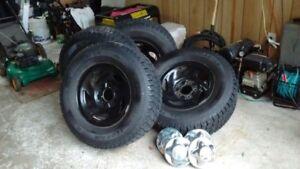 4 pneu d'hiver