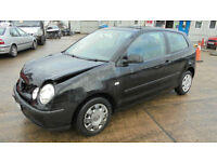 VOLKSWAGON POLO S DAMAGED REPAIRABLE SALVAGE