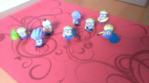 McDonald's Happy Meal MINIONS 2013 COMPLETE SET Despicable Me
