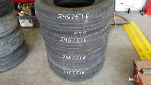 Set of 4 Hankook Dynapro HP 245/75R16 tires (50% tread life)