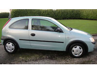 Vauxhall/Opel Corsa 1.0i 12v 2001MY Club