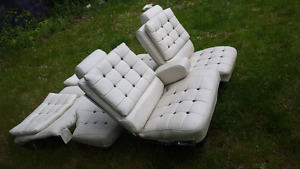 Restored Classic Car seats