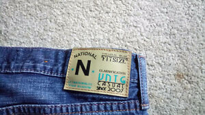 Two Pairs National Outfitters Jeans 34x34