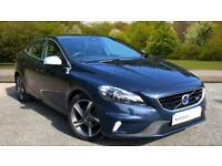2014 Volvo V40 D2 120hp R Design Lux Nav with Manual Diesel Hatchback