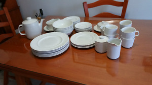 Athena by Johnson brothers ironstone dishes