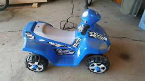 Battery operated little quad