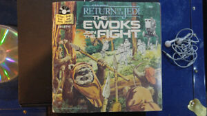 Star wars read-along record/book - The ewoks join the fight