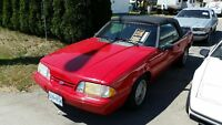 1992 Ford Mustang LS Convertible